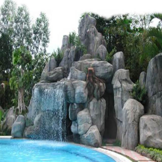 Lựa chọn vị trí thi công thác nước phong thủy